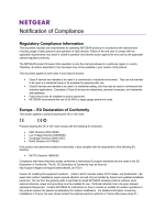 Notification of Compliance