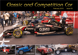 Classic and Competition Car Issue 53 February 2015
