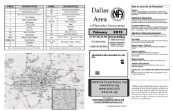 Option #1: Download the Dallas Area NA Meeting Schedule
