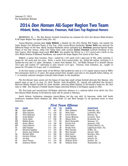 Complete Don Hansen All-Super Region 2 Team (PDF)