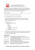2015-2016 Kindergarten Registration Packet