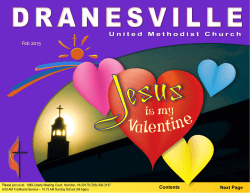 Valentine - Dranesville United Methodist Church