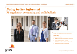 Being Better Informed September 2014