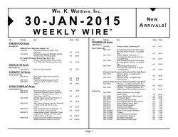 Weekly Wire
