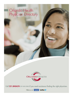 Orlando Health Physician Directory
