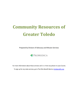 Community Resources of Greater Toledo