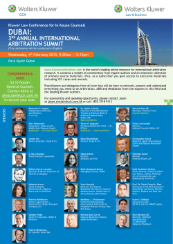 aRbItRatIOn SuMMIt