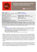 Population Movement - International Federation of Red Cross and