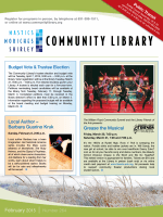 Newsletter - Mastics-Moriches