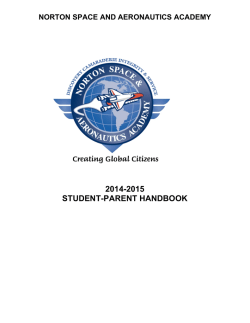 Parent-Student Handbook - Lewis Center for Educational Research