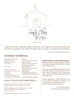Sunday 2015-02-01 - Santa Clara Church