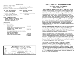 Download (Adobe PDF) - Peace Lutheran Church