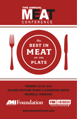 Download - Annual Meat Conference 2015