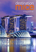 1 • Destination MICE • January 2015