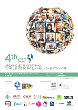 world forum - Lifelong Learning today