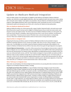 download fact sheet - Center for Health Care Strategies