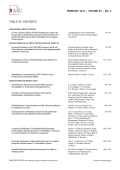 TABLE OF CONTENTS - Antimicrobial Agents and Chemotherapy
