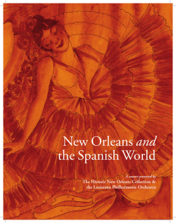 New Orleans and the Spanish World