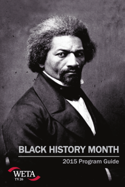 Download our Black History Month program guide for a list of WETA