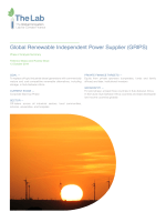 Global Renewable Independent Power Supplier