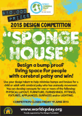 Sponge House Competition Poster