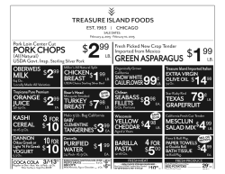 99 - Treasure Island Foods