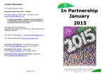 In Partnership January 2015 - West Swindon and Lydiard Tregoz