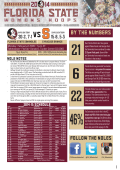 BY THE NUMBERS - Florida State University Athletics