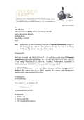 Date: 01.01.2015 To, The Director, Infrastructure and Miscellaneous