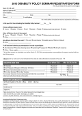 official registration form