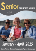 Senior Jan-Apr 2015 Program Guide
