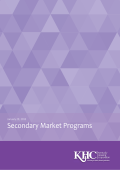 Secondary Market Programs - Kentucky Housing Corporation
