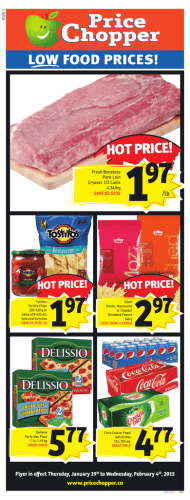 flyer - Price Chopper