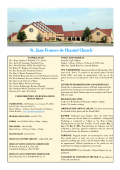 St. Jane Frances de Chantal Church - E
