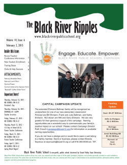Ripples - Black River Public School