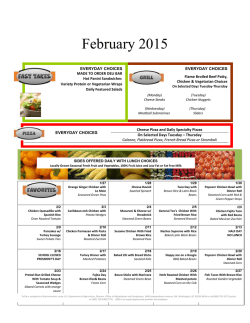Lunch Menu (pdf) - Monmouth Regional High School