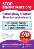 19 March Day of Action Flyer