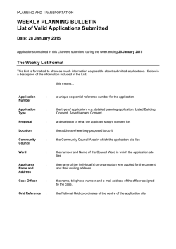 25 January 2015 - Falkirk Council