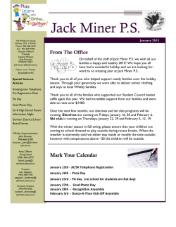 Jack Miner P.S. - Durham District School Board