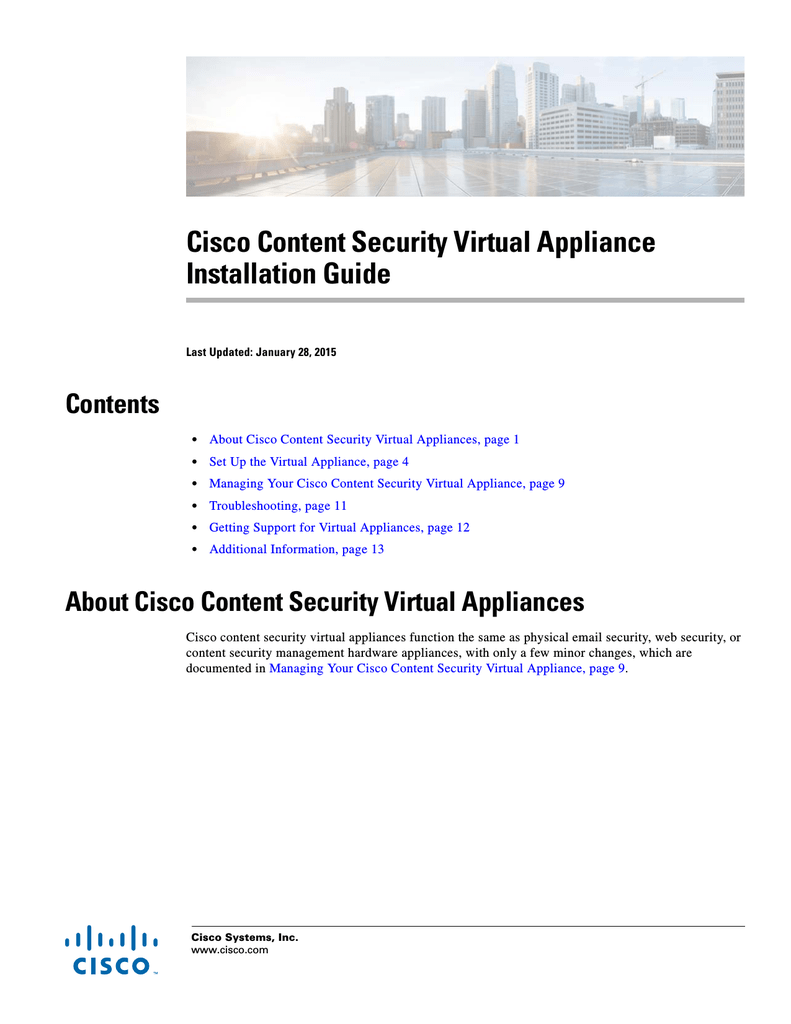 Cisco Content Security Virtual Appliance Installation Guide Console Cable Wiring Diagram Http Wwwciscocom En Us Docs 000459370 1 3394261c650adeba49ffda9f12eacb3e