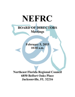 Printable version - Northeast Florida Regional Council