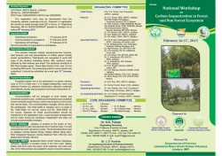 National Workshop - February 16-17, 2015