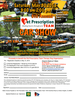 Car Show flyer - petprescriptionteam