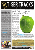 Staff Café opens at the BA Academy Feb. 2