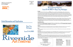 Riverside Art Festival June 13