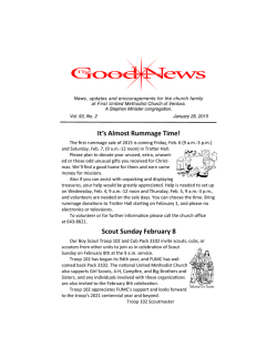 Good News Newsletter - First United Methodist Church of Ventura