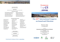 To download the ICSV22 updated flyer with the extended abstract