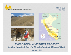 SubPPT - Eloro Resources Ltd.