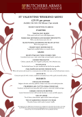 VIEW MENU - The Butchers Arms