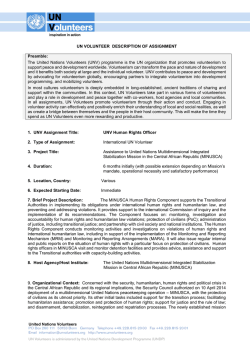 documento completo PDF - United Nations Volunteers